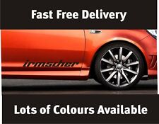 Irmscher Vauxhall Door Sticker Decal Graphic Many Colours Fast Free Delivery