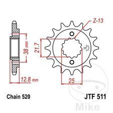 JT Front Sprocket 14T 520 Pitch JTF511.14 Kawasaki KLR 650 C 2002