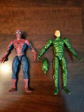 Marvel Legends Toybiz Sam Raimi Spider-Man 2002 Spiderman and Green Goblin 6inch