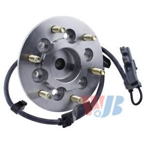 Wheel Bearing and Hub Assembly-RWD Front Left WJB WA515106