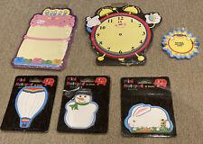 Carson-Dellosa's Novel Notes Sheets Teaching Classroom Lot Of 6 Birthday Clock