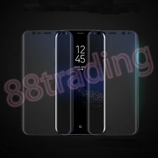 5 x CURVED FIT PREMIUM ANTI SCRATCH SCREEN PROTECTOR FOR SAMSUNG GALAXY S8 PLUS