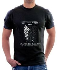 AOT Attack On Titan Recon Corps printed cotton t-shirt 9707