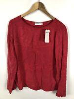 BONITA Damen Bluse, Shirt, Größe 38, rot, Neu mit Etikett, locker und schick