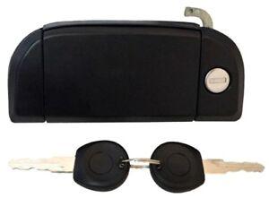 Left Outside Outer Exterior Door Handle & Keys for 92 - 03 VW Volkswagen Eurovan