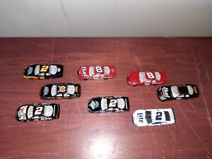 LOT OF 8 LOOSE 1:64 NASCAR DIECASTS BEER CARS (B)