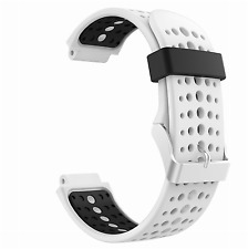 Garmin Forerunner 220/230/235/620/630 Replacement Silicone Bands White & Black