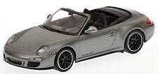 Porsche 911 GTS Cabriolet 997 II 2011 grau grey metallic 1:43 Minichamps