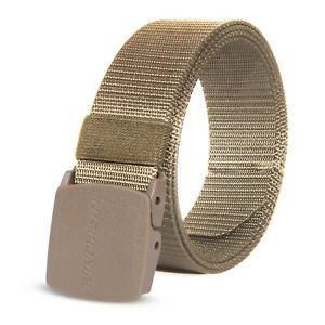 Winchester Nylon Belt Outdoor Military Web Belt with Nickel- Free Plastic Buckle