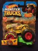 2019 4-Wheel Hive Hot Wheels Monster Trucks Giant Wheels Gold