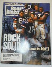 Sports Illustrated Magazine Arizona's Tedy Bruschi & Hoffman August 1994 012815R