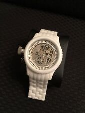 Invicta Women's Lefty 1896 Russian Diver Mechanical White Ceramic Watch