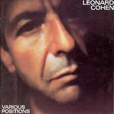 Leonard Cohen Various Positions 9 Track CD 1984
