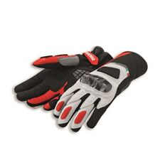 Ducati - C3 Sport Leather & Fabric Gloves - Large - 981037065