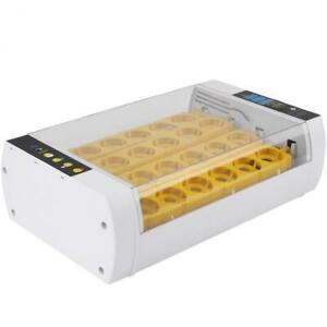 24 Chicken Egg Incubator Temperature Control Digital Automatic Chicken Chick