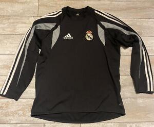 Adidas Real Madrid Vintage 2004/05 Fleece Top Small S