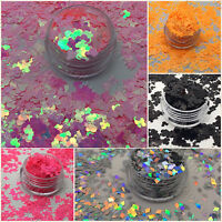 GLITTER Sequins Shape HALLOWEEN Nail Art Decoration MICKEY MOUSE  HOLOGRAPHIC 3D