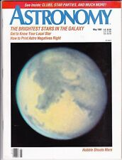 Astronomy Magazine May 1991 Brightest Stars, Hubble, Sunspots, Great Bear