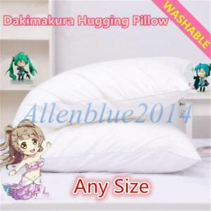 Anime Dakimakura Hugging Body Inner Pillow Bed Cushion Cotton Filling Any Size