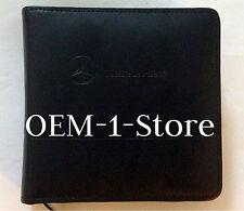 MERCEDES BENZ CD DVD NAVIGATION NAV CASE MAP DATA DISC MUSIC MOVIES HOLDER ALBUM