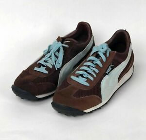 Retro Vintage 90s Puma Easy Rider? 9.5 Driving Shoes Sneakers Trainers Suede