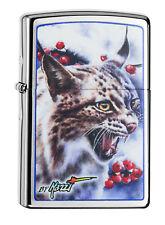 Zippo Lighter ● Mazzi Lynx Luchs Animal Tier ● 60000682 ● Neu New OVP ● A177