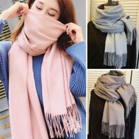 Women Winter Warm Scarf Cashmere Feel Scarves Pashmina Shawl Stole Wrap 70*180cm
