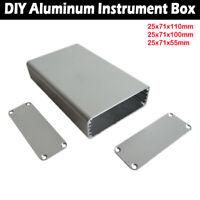 44x122x140mm Aluminum Instrument Box Enclosure Electronic Project Case