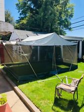 Vintage EUREKA Cabin Wall Tent Screen House 10 X 14 Ft - LOCAL PICKUP AVAILABLE