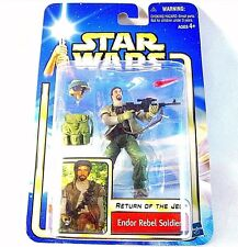 STAR WARS RETURN OF THE JEDI CARDED ENDOR REBEL SOLDIER, COLLECTOR'S ITEM ,NEW