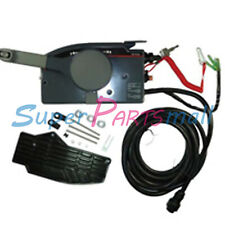 Outboard Remote Control Box 7Pin For Yamaha Side Mount 25 30HP Pull To Open