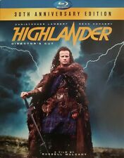 Highlander (Blu-ray Disc, 2016, 30th Anniversary) -Slipcover - Sean Connery-New