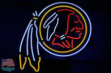 "Washington Redskins NFL Pub Bar Neon Sign 20""x16"" From USA"