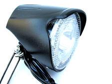 20 LUX LED Fahrradscheinwerfer UNION Nabendynamo schaltbar Fahrradlampe UN-4255