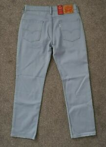 BNWT Mens Levis 514 Straight Regular Fit Light Blue Jeans - W32 L30
