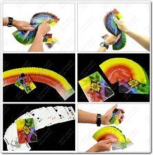 Dünn Fanning Manipulation 4 Way Verwandeln Farbe Fan Karten Deck Stage