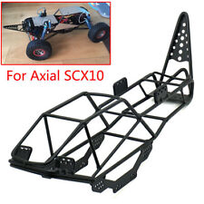 1/10 Scale RC Truck Crawler Steel Frame Body Roll Cage Black For AXIAL SCX10 #B