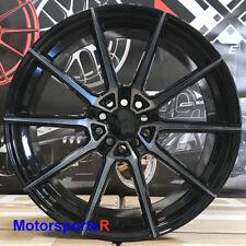 XXR 567 18 x 9.5 ET +38 Phantom Black Rims Wheels 5x100 5x114.3 5x4.5 Hellaflush