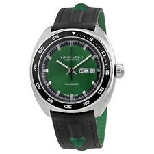 Hamilton American Classic Pan Europ Green Dial Automatic Mens Watch H35415761