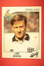 Panini EURO 92 N. 96 ENGLAND DIXON NEW WITH BLACK BACK TOP MINT!!