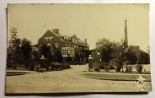 WINCHESTER MASS HOSPITAL  REAL PHOTO  POSTCARD 1930s #1221