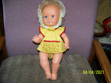 """Older Tiny Tears type baby doll 15"""""""