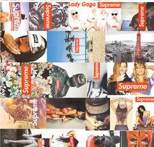 35pc Superme Stickers Vinyl Stickers Decals Snowboard Luggage Car Laptop Bike
