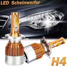 H4 Auto Scheinwerfer Lichter 600W COB LED Birne Set Lampe Leuchtmittel DE Lager