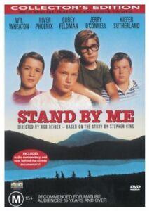 Stand By Me DVD River Phoenix 1986 Stephen King Story - Region 4 Australia
