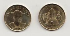 New: Swaziland E5 Commemorative coin to mark 50/50 anniversary 2018 mint