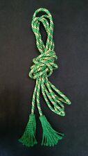 CINCTURE GOLD GREEN WITH GREEN FRINGES Alb, albe, albs, robe , Vestment CG-Z