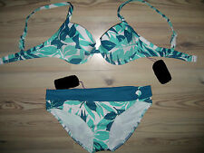 Marken  push - up  Bügel - Bikini Gr  36  Cup C edellook  NEU A1-029-1