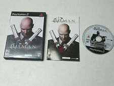 Hitman: Contracts  (Sony PlayStation 2, 2004) complete
