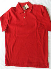 NWT Men's S Red Heritage Polo - St. John's Bay